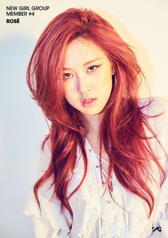 Rose BLACKPINK Black Pink YG