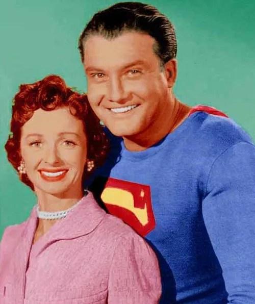 George Reeves et Noel Neill : Adventures of Superman