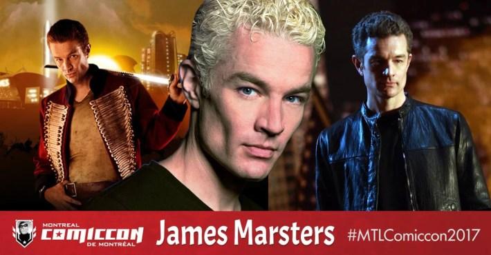 JAMES MARSTERS