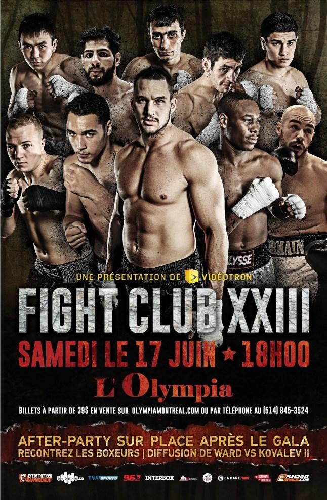 23e édition des galas de la série Fight Club