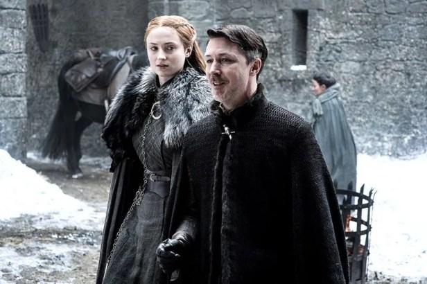 Sansa-Littlefinger-Winterfell