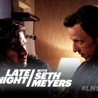 Game of Thrones: Seth Meyers invite Jon Snow à souper (vidéo)