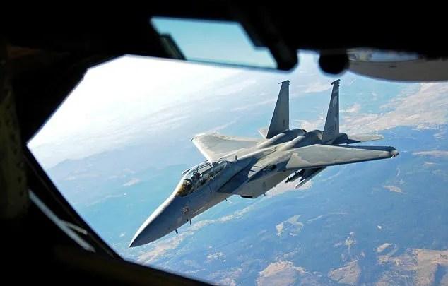 Utah Air National Guard refuels F-15 Eagles