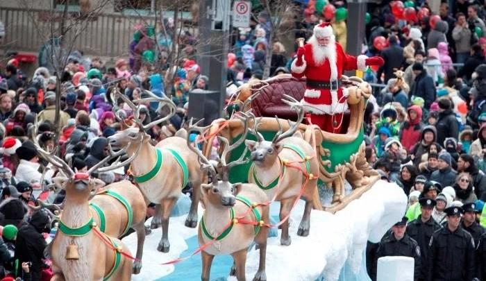 Défilé du Père Noël