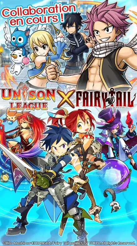 Unison League x FAIRY TAIL
