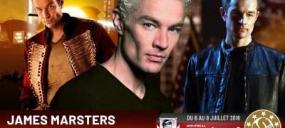 Angel: James Marsters confirmé au Comiccon de Montréal