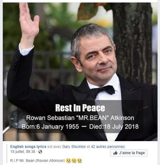 Rowan Atkinson: Mr Bean n'est pas mort