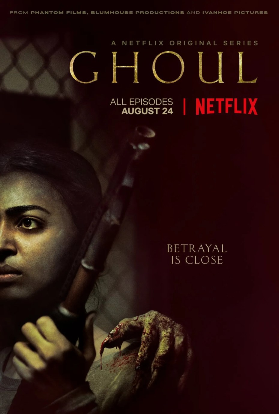 Ghoul netflix poster