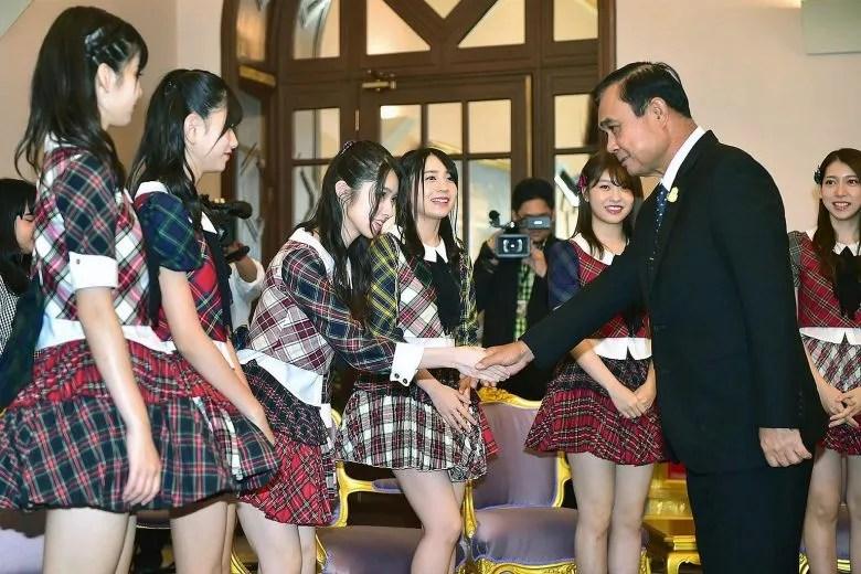 AKB48 Thaïlande Prayut Chan-o-Cha