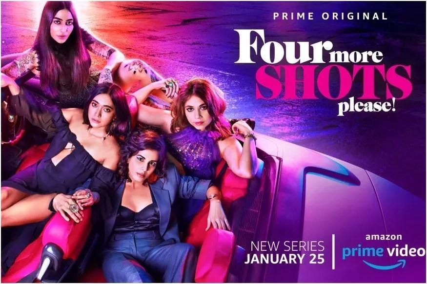 Four More Shots Please: la série réalité indienne est sur Prime Video