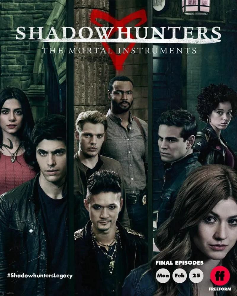 Shadowhunters saison 3