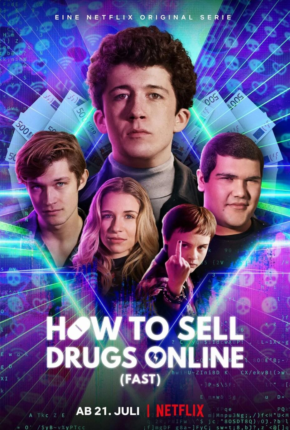 Comment vendre de la drogue en ligne