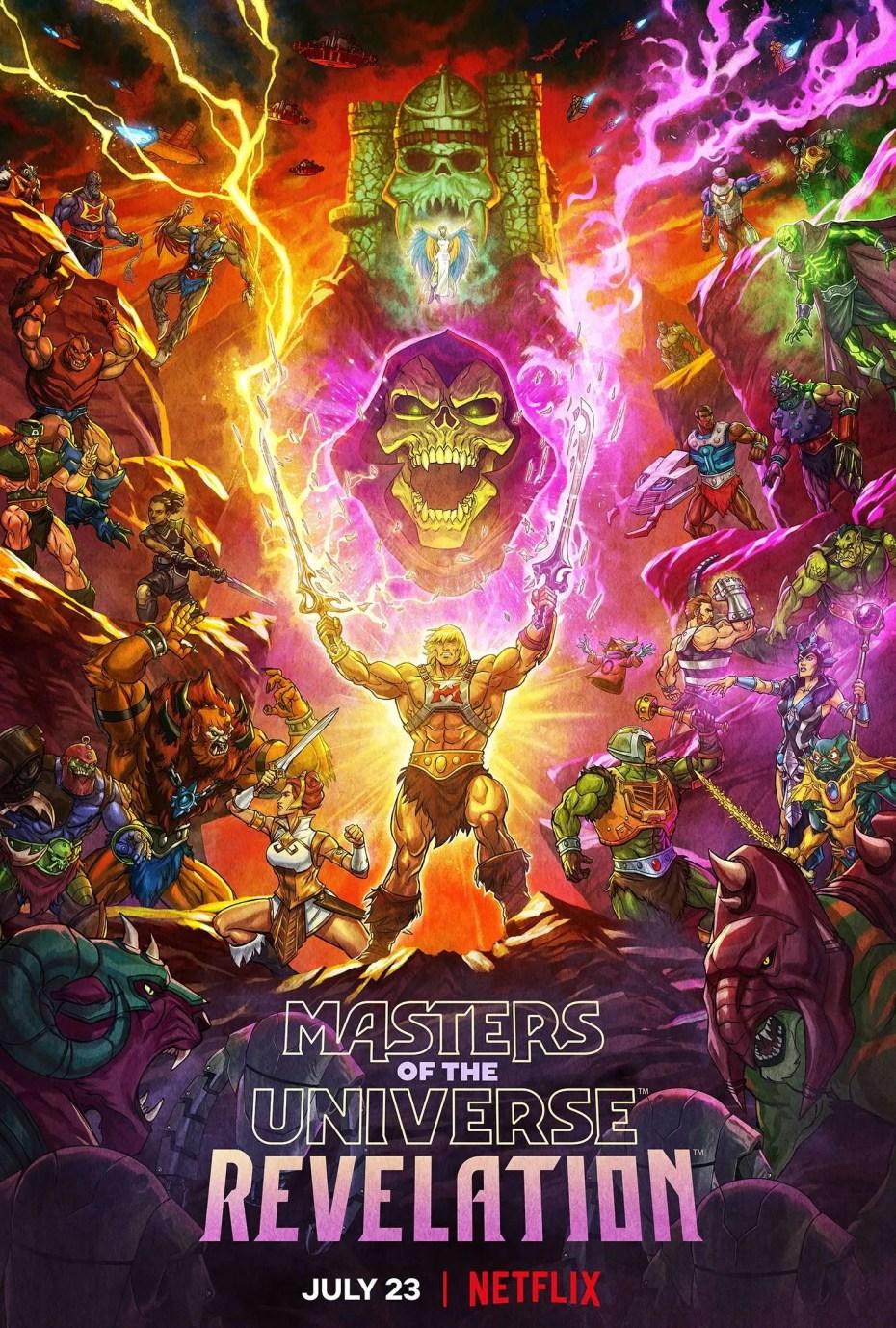 Les Maîtres de l'univers : Révélation