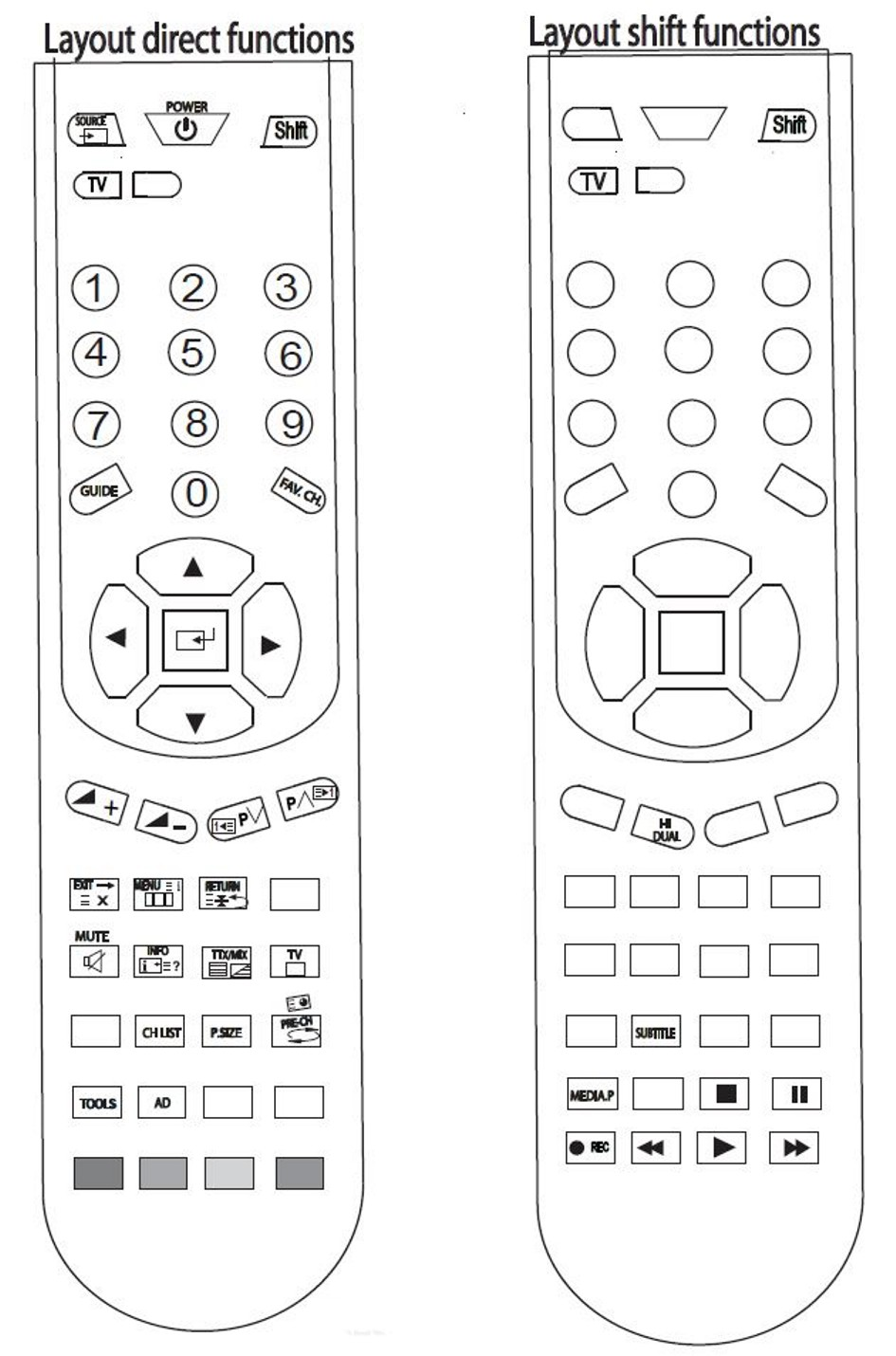 Replacement SAMSUNG Remote Control BN59-00901A BN5900901A