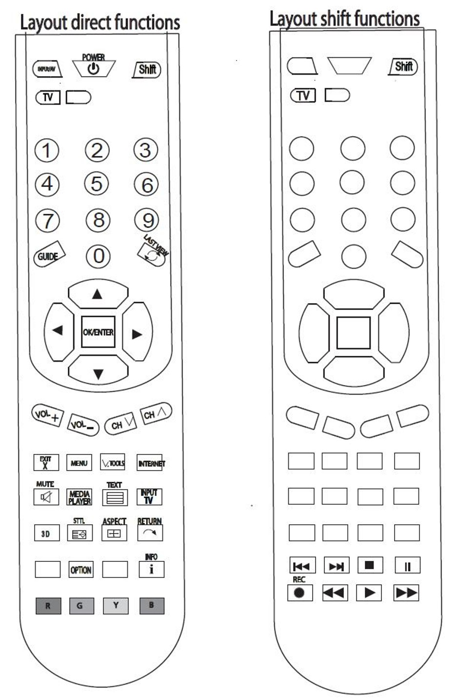 Replacement PANASONIC Remote Control N2QAYB000746 THP65ST50A
