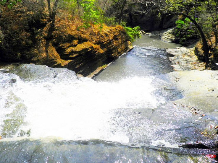2ª queda da Cachoeira do Confins - Foto: Gil Valadares