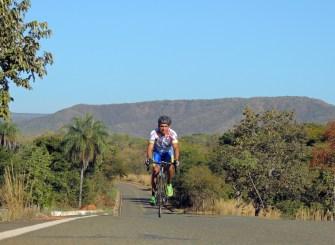 Joaquim Souza, atleta do ciclismo em Buritis - Foto: Marcilei Farias