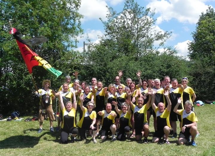 Männerriege STV & Frauenturnverein am Turnfest in Langnau