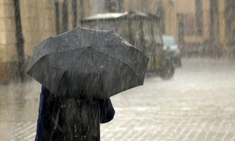 Kiša, vrijeme