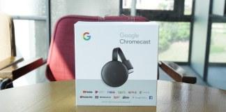 Chromecast box