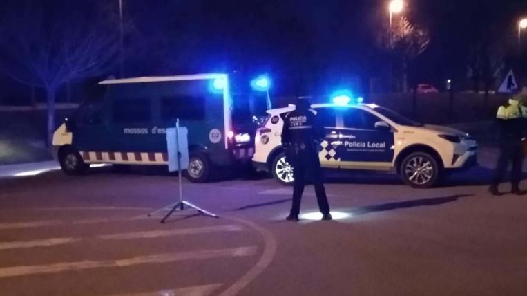 Nou dispositiu de Mossos i Policia Local a la zona d'oci de Sant Cugat