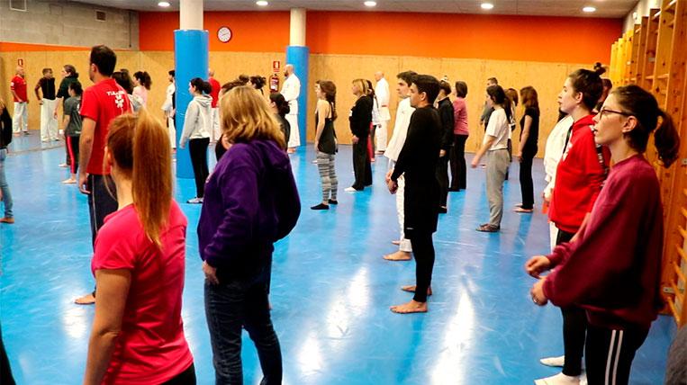 Masterclass de Defensa Personal del Club Jiu-Jitsu Sant Cugat per al Dia de la Dona