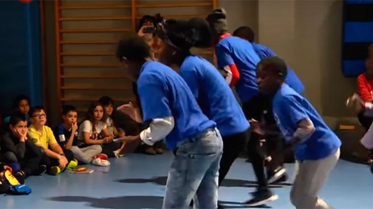 El cor de nens de Malawi torna a visitar Sant Cugat
