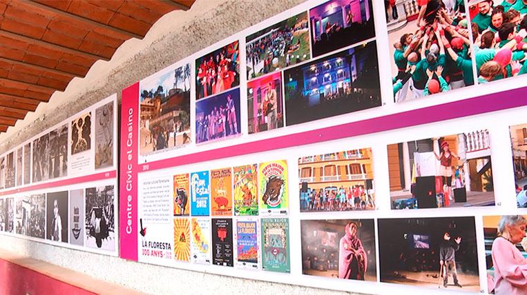 Inauguren una exposició sobre la vida social i artística de La Floresta