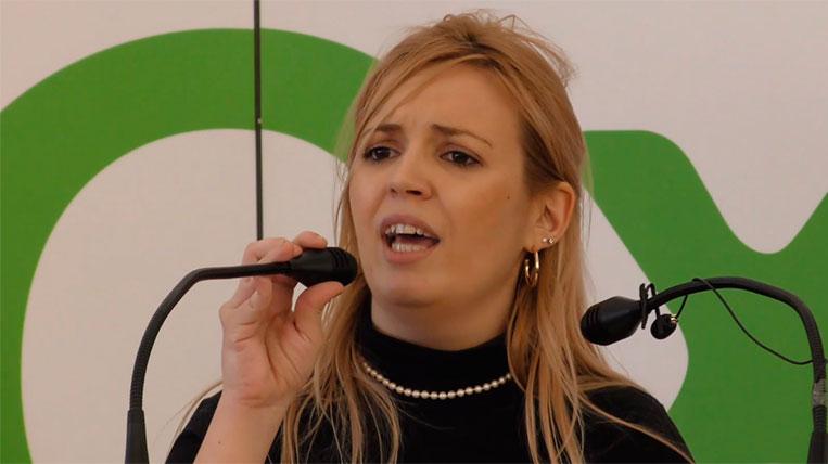 Nerea Andrés, candidata de VOX a les eleccions municipals de Sant Cugat