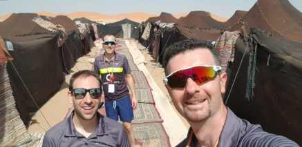 Els participants santcugatencs a la Titan Desert