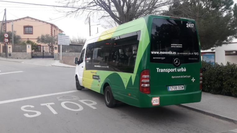L'autobús a demanda a Les Planes transporta 950 passatgers