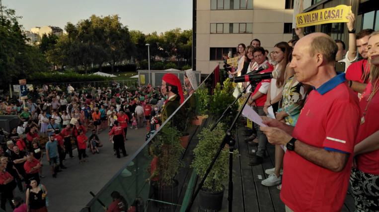 El Club Muntanyenc enceta quatre dies de Festa Major