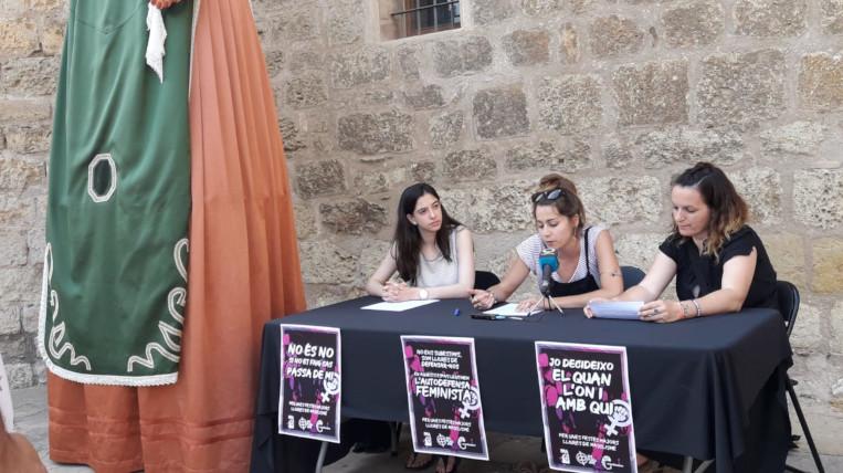 Espai d'Arrel, la Festa Major Alternativa i la Desplaça Jove, contra la violència masclista