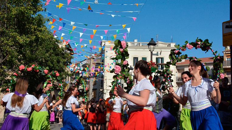 Sant Cugat tanca quatre dies de Festa Major amb una bona participació, tot i l'onada de calor