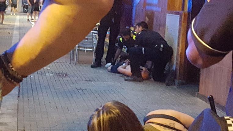 Dos detinguts en una baralla al camí de la Creu
