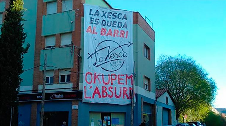 """La CUP-PC es posiciona al costat de """"la Xesca"""" i atribueix a Sòlvia l'estat actual de l'edifici"""