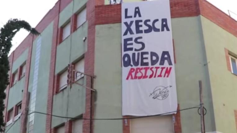 L'ajuntament ordena el desallotjament de La Xesca per raons de seguretat