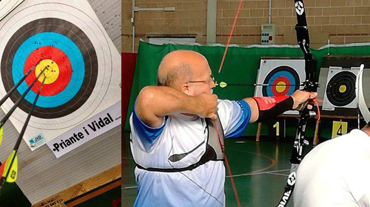Adolf Priante s'estrena amb èxit a la categoria sènior de tir amb arc
