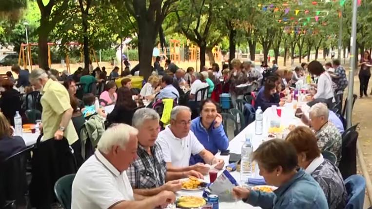 Els veïns es volquen a la Festa Major del Barri Monestir-Sant Francesc