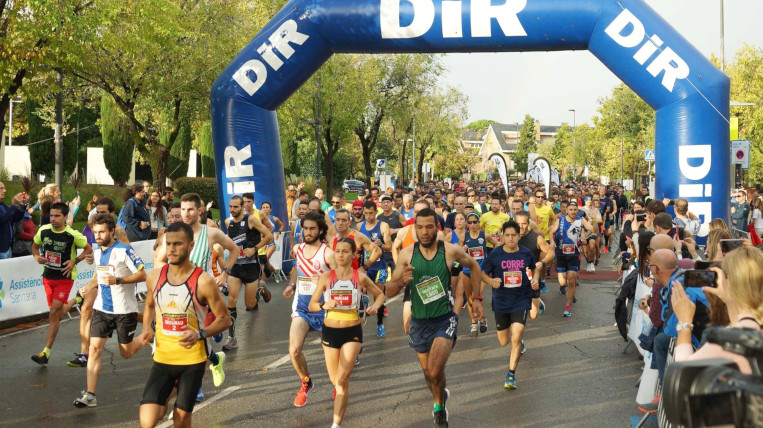 Míriam Ortiz i Mourad Mounim guanyen l'11a edició de la Cursa DiR- Mossos d'Esquadra