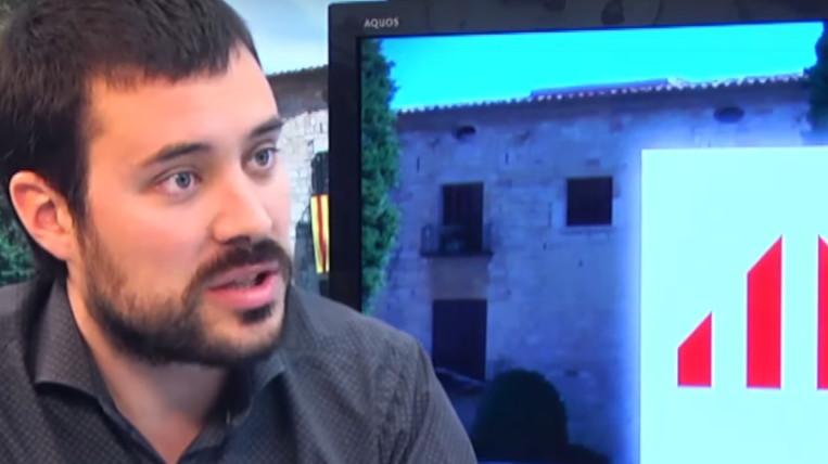 Bernat Picornell, d'ERC, afirma que el partit afronta les eleccions generals amb preocupació per la situació del país