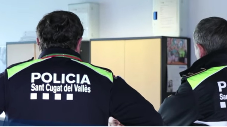 La Policia Local recupera el telèfon 092