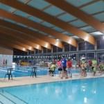 El Campionat de Natació Escolar 2020 omple la piscina de l'Eurofitness amb centenars de nens i nenes