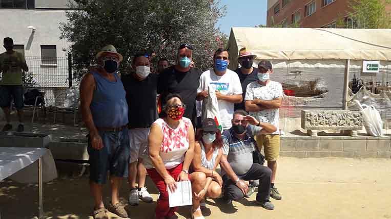 El Club Petanca Sant Cugat celebra amb èxit el Social d'Estiu Solidari en què han participat 44 socis