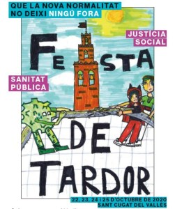 Ja tenim el cartell guanyador de la Festa de Tardor 2020