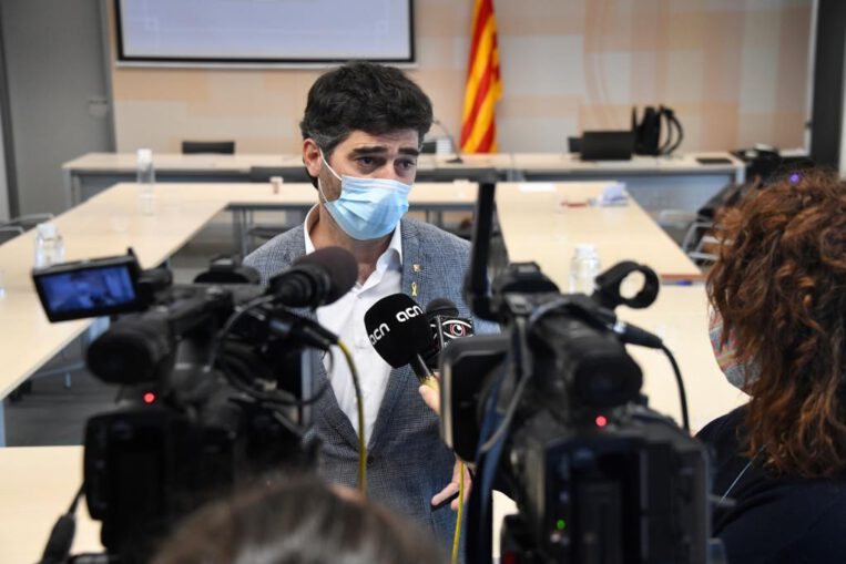 Puigneró dona positiu per coronavirus
