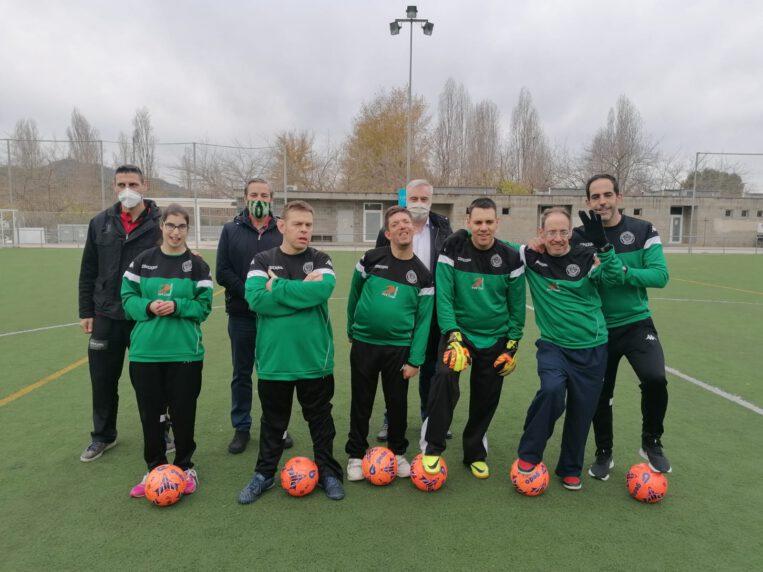 El CFU Mira-sol Baco presenta l'equip de Persones amb Diversitat Funcional