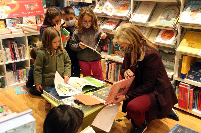 Gairebé la meitat dels infants de sis anys han participat a la campanya 'Fas 6 anys. Tria un llibre'