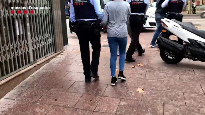 Detingut un clan familiar dedicat a robatoris violents a gent gran