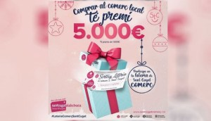 Ja es coneixen els guanyadors dels xecs de 1.000€ de Sant Cugat Comerç
